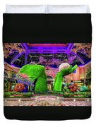 Bellagio Conservatory Spring Display Ultra Wide 2 To 1 Aspect Ratio Duvet Cover