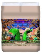 Bellagio Conservatory Spring Display Ultra Wide Trees 2018 2 To 1 Aspect Ratio Duvet Cover