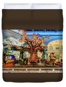 Bellagio Enchanted Talking Tree Ultra Wide 2018 2 To 1 Aspect Ratio Duvet Cover