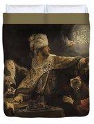 Belshazzar S Feast  Duvet Cover