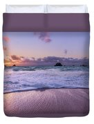 Bermuda Sunrise Welcome To Heaven Crossbay Beach Duvet Cover