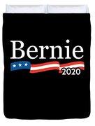 Bernie For President 2020 Duvet Cover