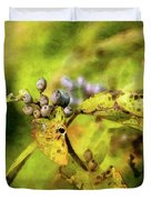 Berries And Aging Leaves 5709 Idp_2 Duvet Cover