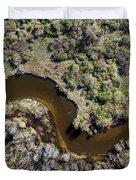 Betsie River Curve Duvet Cover