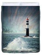 Beyond The Northern Waves Duvet Cover
