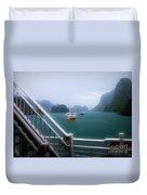 Bhaya Cruise Line Ha Long Bay  Duvet Cover