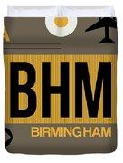 Bhm Birmingham Luggage Tag I Duvet Cover
