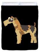 Big Fox Terrier Duvet Cover