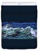 Big Surf Pano Duvet Cover