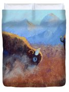 Big Thunder Duvet Cover