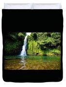 Bioko Waterfall Duvet Cover