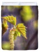 Birch Blooms Duvet Cover