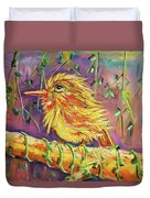 Bird In Nature Duvet Cover