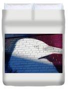 Bird Silhouette Design Duvet Cover