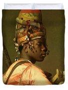 Black Bashi Bazouk 1868 69 Duvet Cover