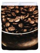 Black Coffee, No Sugar Duvet Cover
