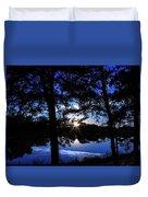 Blau Duvet Cover