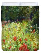 Blooming Field Duvet Cover