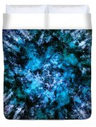 Blue Burst Duvet Cover