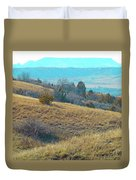 Blue Butte Prairie Reverie Duvet Cover