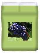 Blue Grape Bunches 5 Duvet Cover