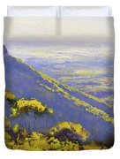 Blue Mountains Australia Duvet Cover