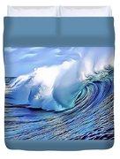 Blue Surf Duvet Cover