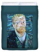 Blue Van Gogh Duvet Cover