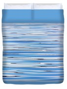 Blue Water Abstract 8621 Duvet Cover