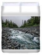 Blue Water Creek Duvet Cover