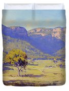 Bluffs Of The Capertee Valley Duvet Cover