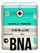 Bna Nashville Luggage Tag II Duvet Cover