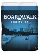 Boardwalk Running Trail Duvet Cover