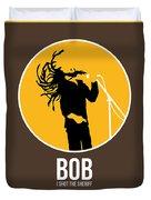 Bob Poster Duvet Cover