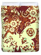 Boho Butterflies Duvet Cover