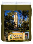 Bok Tower Gardens Poster A Duvet Cover