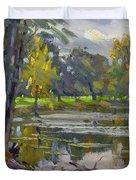 Bond Lake Park Duvet Cover