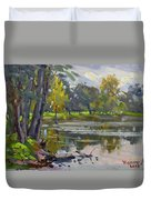 Bond Lake Park Duvet Cover