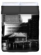 Boston Fort Point Channel Contrast Duvet Cover