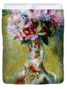 Bouquet In A Vase, 1878 Duvet Cover