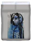 Boy In Blue Duvet Cover