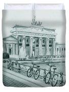 Brandenburg Gate - Berlin Duvet Cover