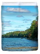 Bras D'or Lake, Cape Breton Nova Scotia, Canada Duvet Cover