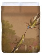 Brazilian Hummingbirds II Duvet Cover