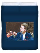 Brett Kavanaugh Testifies Before Senate Duvet Cover