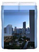 Brickell Key Miami Florida Duvet Cover