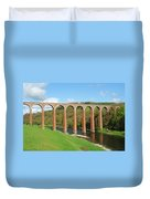 bridge over river Tweed near Melrose Duvet Cover