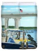 Bridge To Summer II Duvet Cover