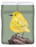 Bright Spot #3 Duvet Cover by Maria Langgle