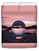 Brighton Beach Reflections Duvet Cover